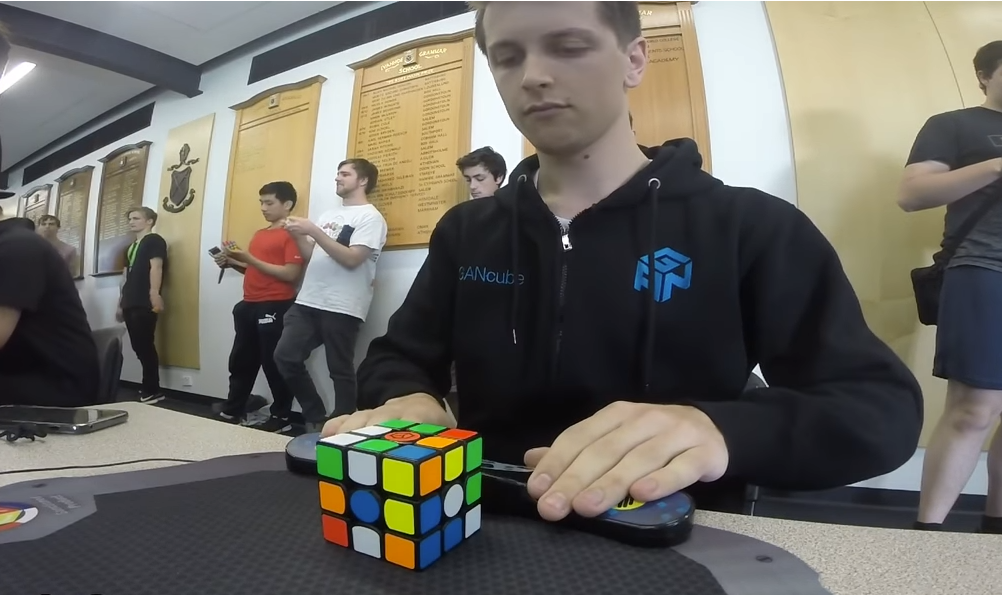 3x3 solves from Cube For Cambodia 2018