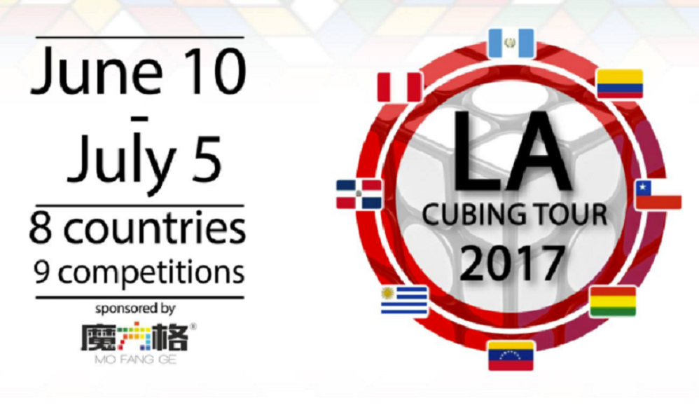 Latin America Cubing Tour 2017 - Part 1